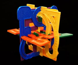 3D Printed PolyPuzzle