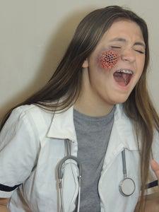 Maggot Infested Skin (Trypophobia) Doctor Costume