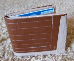 My Custom Duct Tape Wallet