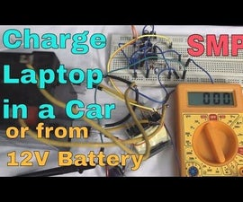 SMPS    Charge Your Laptop in a Car