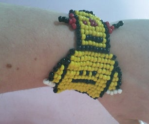 Make an Instructables Inspired Bead Loom Bracelet