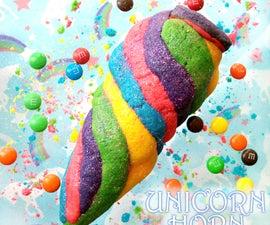 Unicorn Horn Cookies