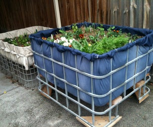 Moveable Carport Garden
