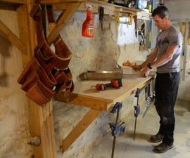 DIY Project: How to make a workbench