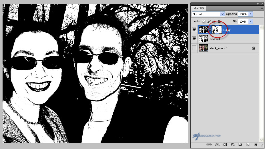 Picture of Remove Noise by Using a Layer Mask