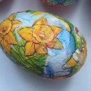 Decoupage Egg
