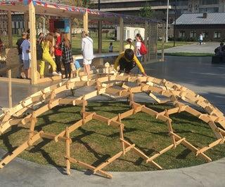 Participative Wooden Structure