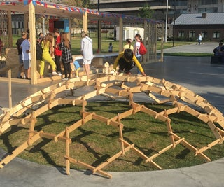 Participative Wooden Structure