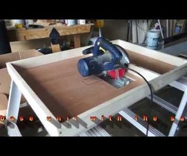 Circular Saw Converted to a Table Saw