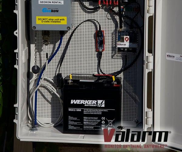 Piezometers, Pressure Transducers, Geokon Vibrating Wires - Monitoring Industrial IoT Sensors with Tools.Valarm.net