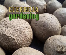Guerrilla gardening - bombing style