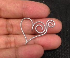 Paperclip Pendant