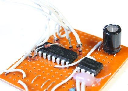Attaching the LED's to the Circuit Board