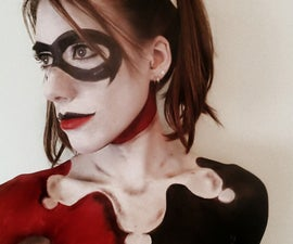 How to look like Harley Quinn! Make-up Transformation.