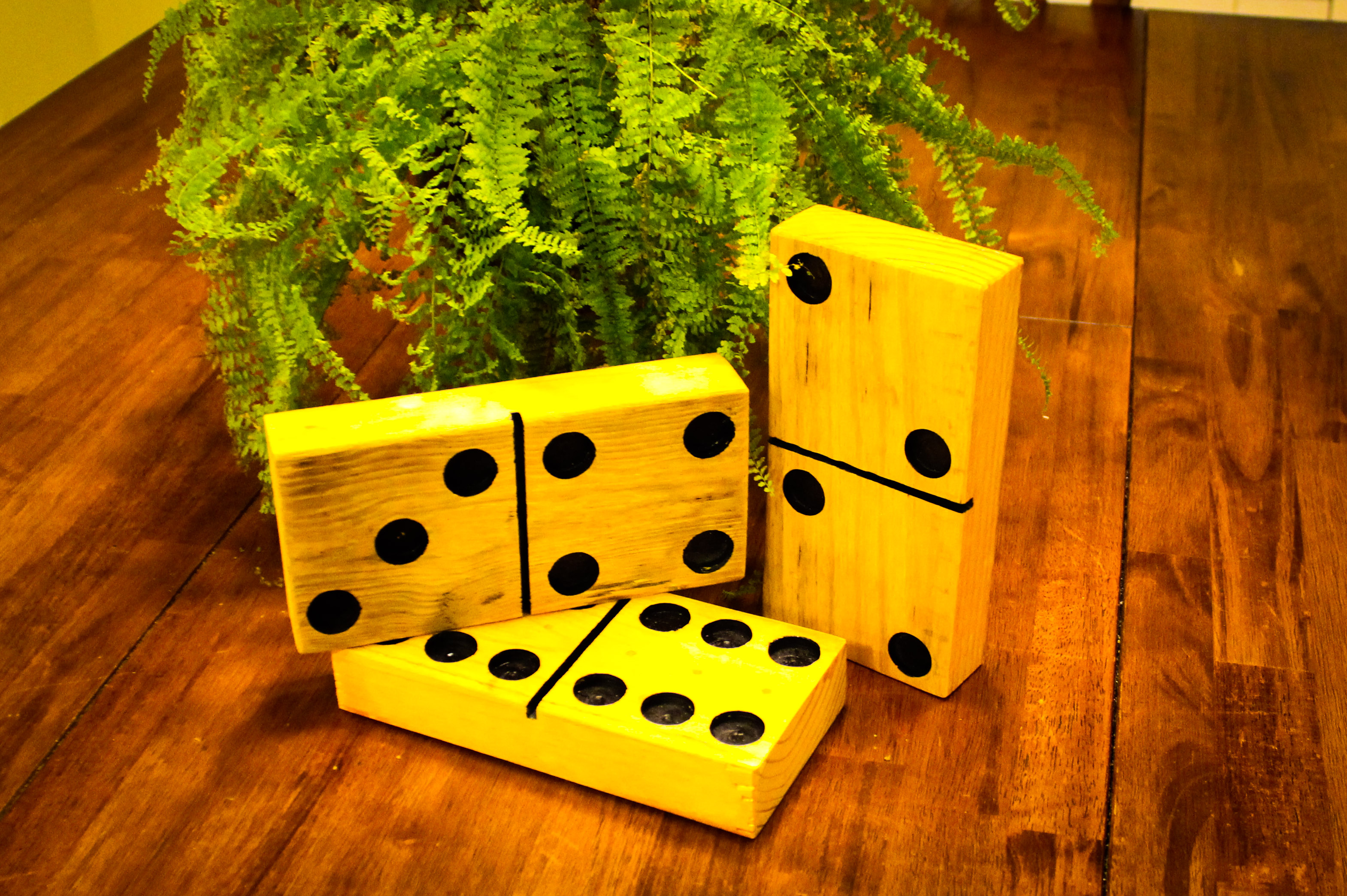 Picture of Large Dominoes From Pallets