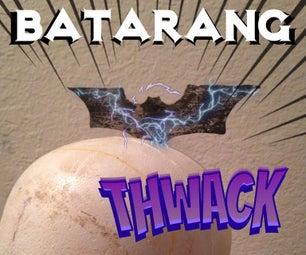 Batarang From Scrap Metal