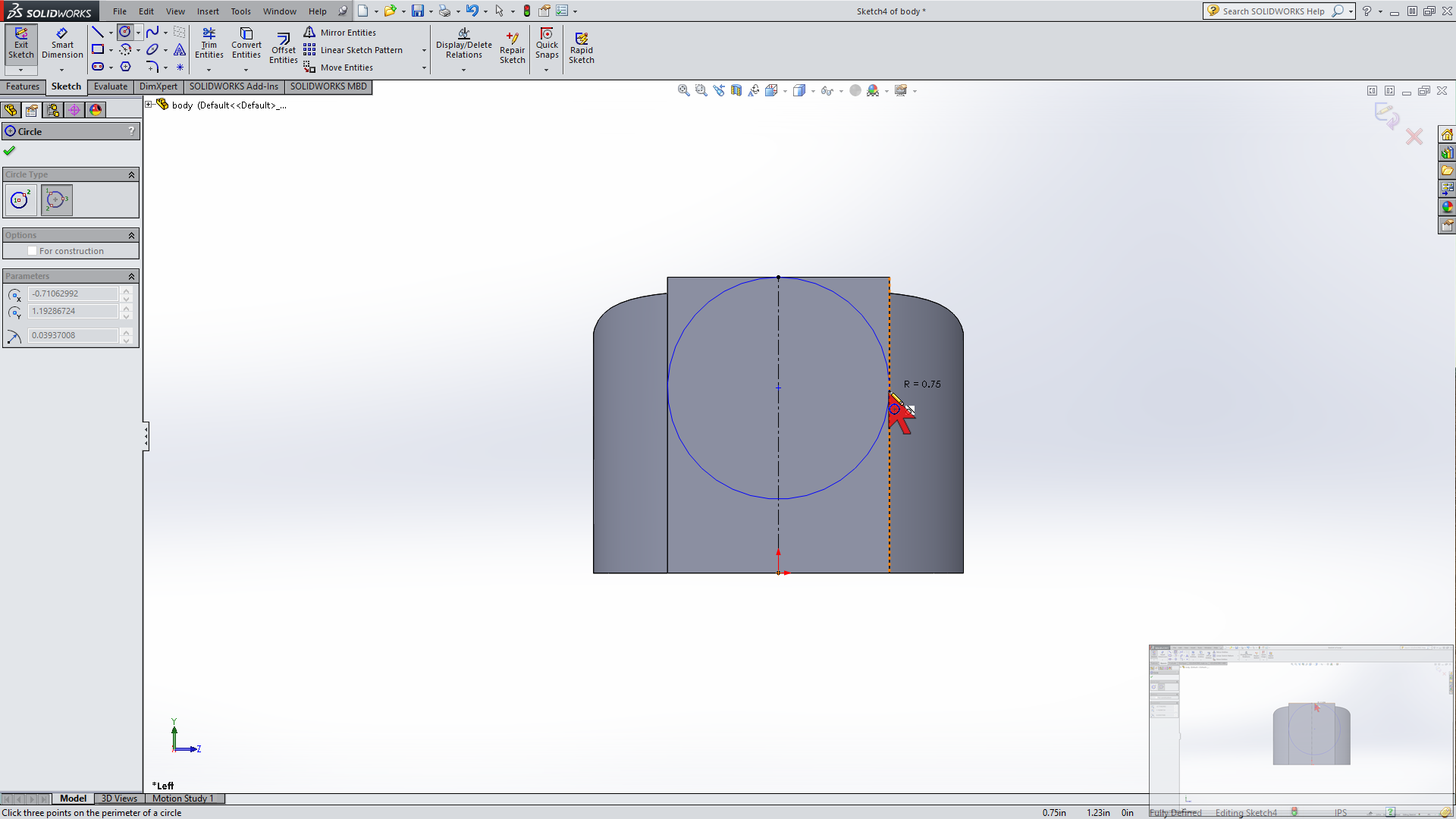 Picture of Circle Tool