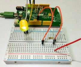 LinkIt One - Electromagnetic Field Analyzer