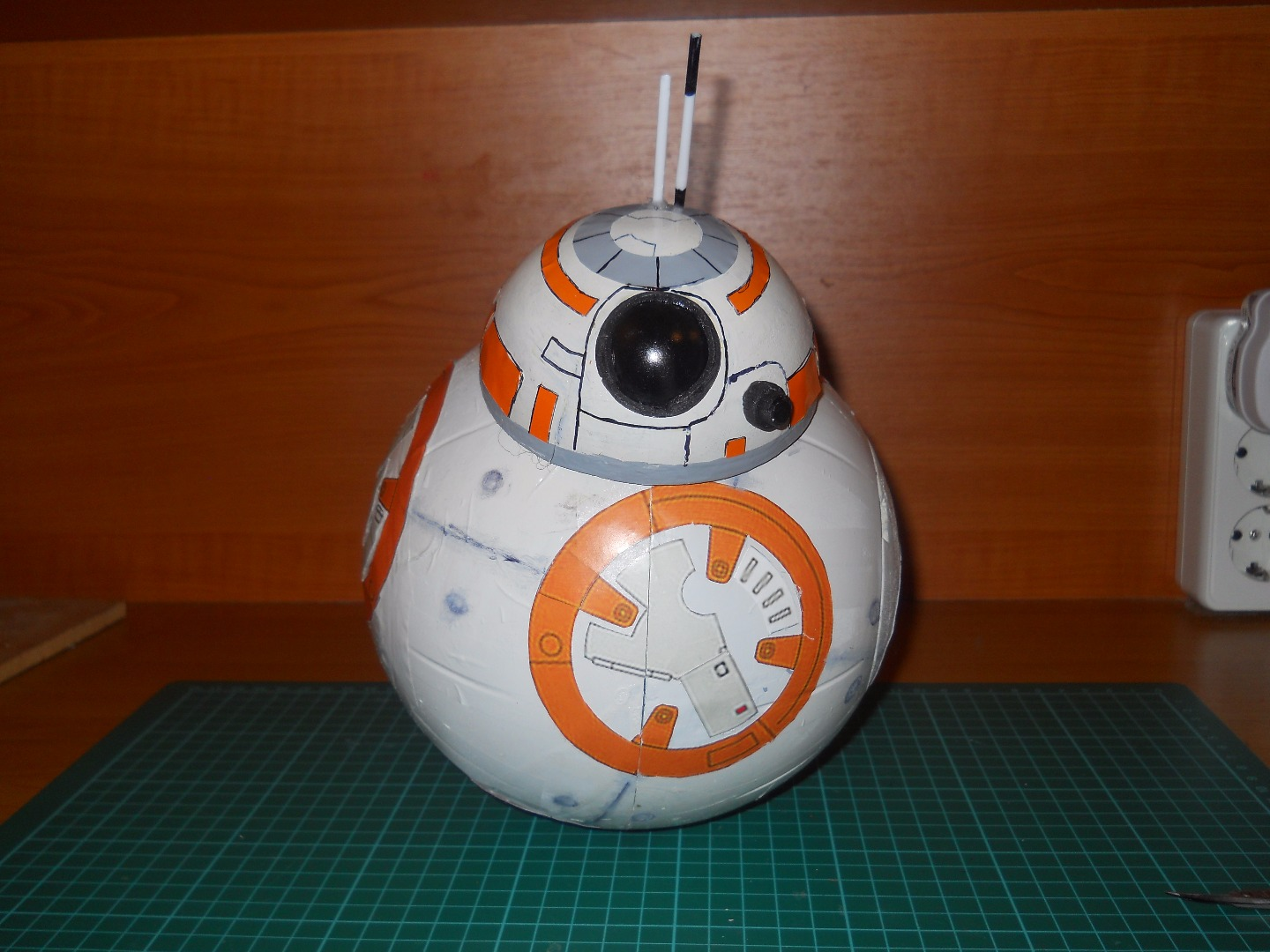 Picture of DIY Bluetooth Phone Controlled BB-8 Droid With Arduino UNO