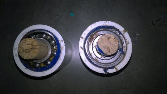 Add Ball Bearing With a PVC Pipe