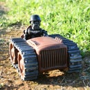 Dieselpunk FPV Tractor