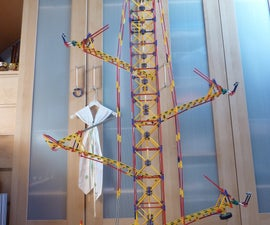 Counter Parallel Arm Lift, a knex ball machine lift