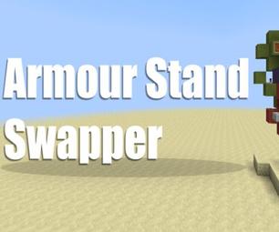 Minecraft :: Armour Stand Swapper [Redstone 1.8]
