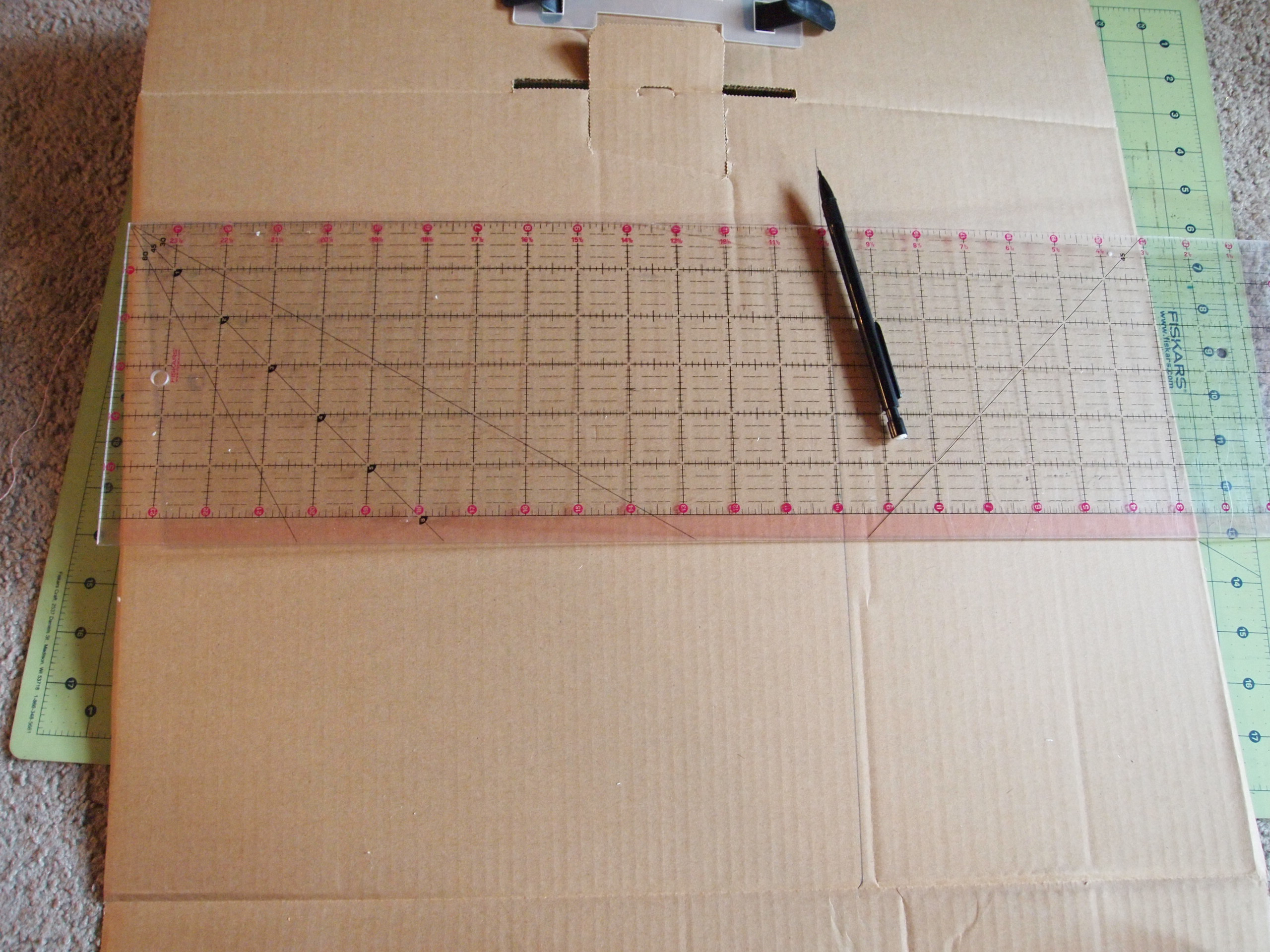 Picture of Cut Out Main Piece for HDTV Antenna