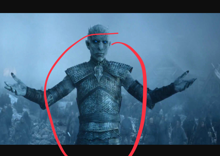 Picture of DIY White Walker Armour From Game of Thrones