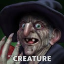 Creating a Witch with 123D Creature
