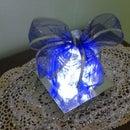 Illuminated Glass Gift Decoration