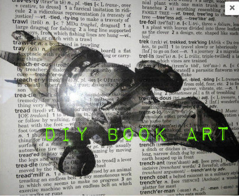 Picture of DIY Book Art