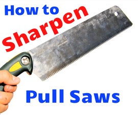 How to Sharpen a Japanese Saw
