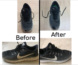 Restoring Old Shoe With Hole in It