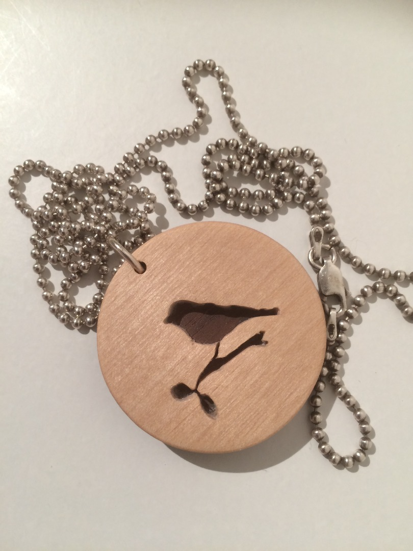 Picture of Make a Wooden Pendant on a Necklace