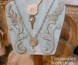 Fancy Necklace Display