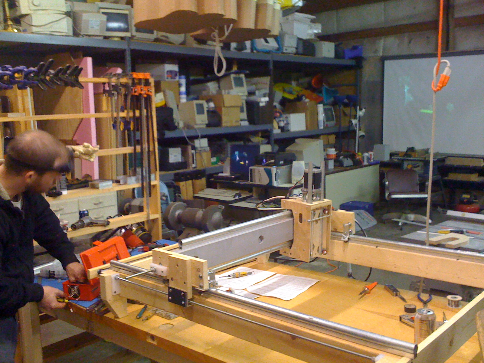 Picture of Our Workshop & New CNC