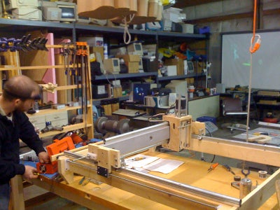 Our Workshop & New CNC