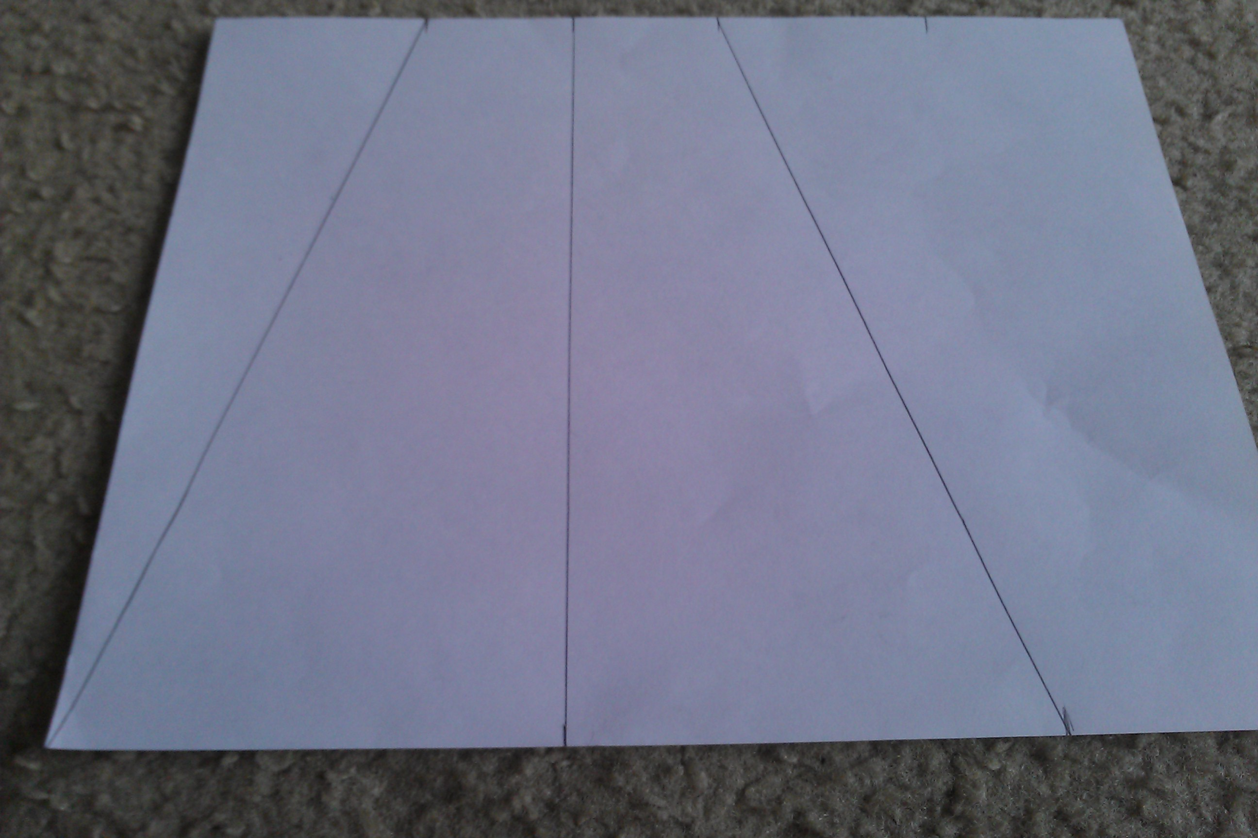 Picture of T1; Lines and Cutting