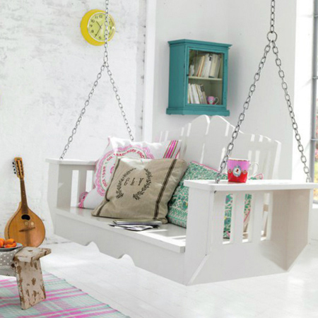 Picture of Easy DIY Indoor Swing