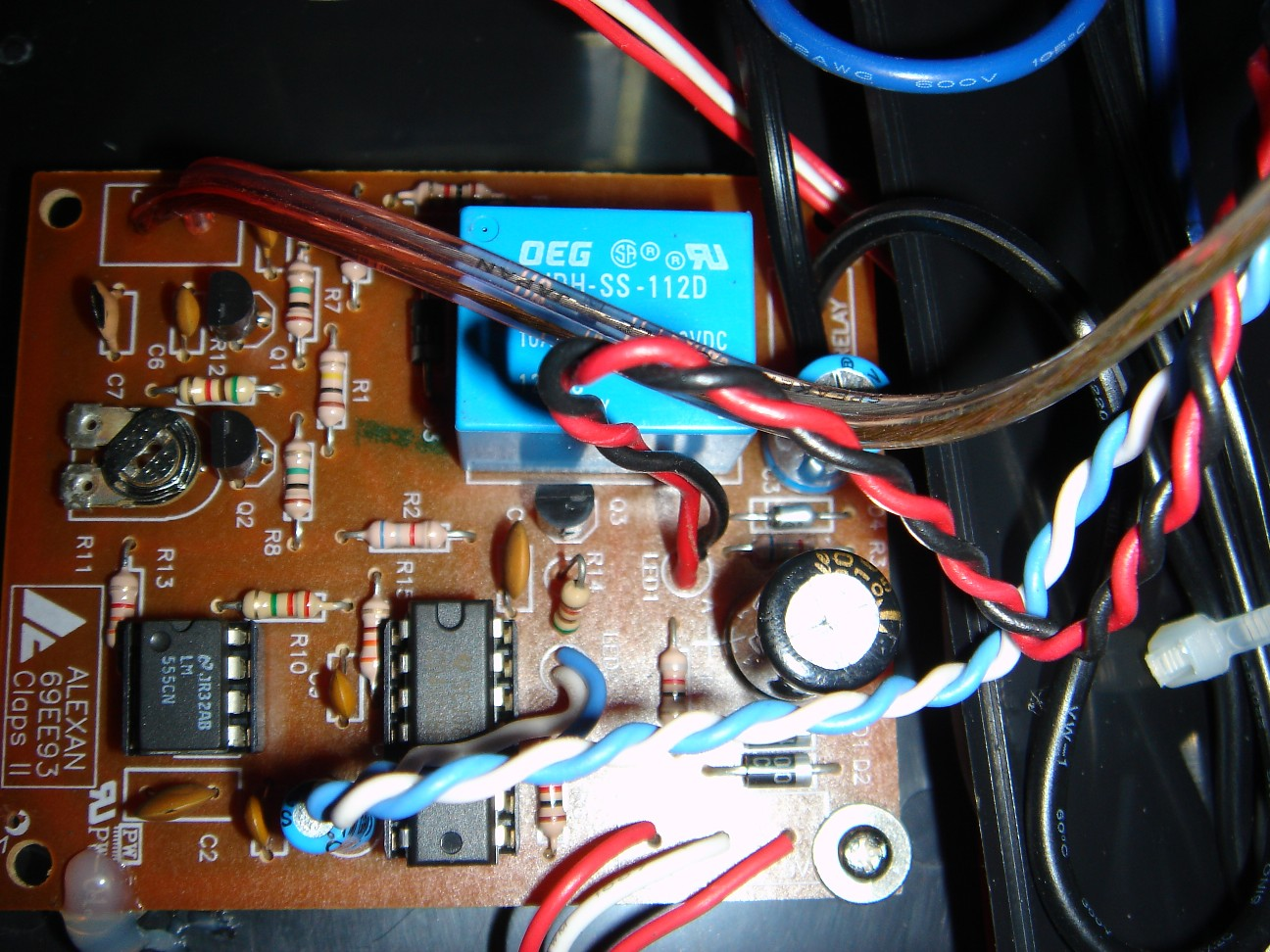 Picture of Clapper Circuit Diagram