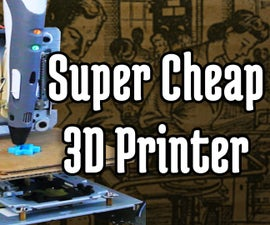 Super Cheap 3D Printer from CD-Rom Drives