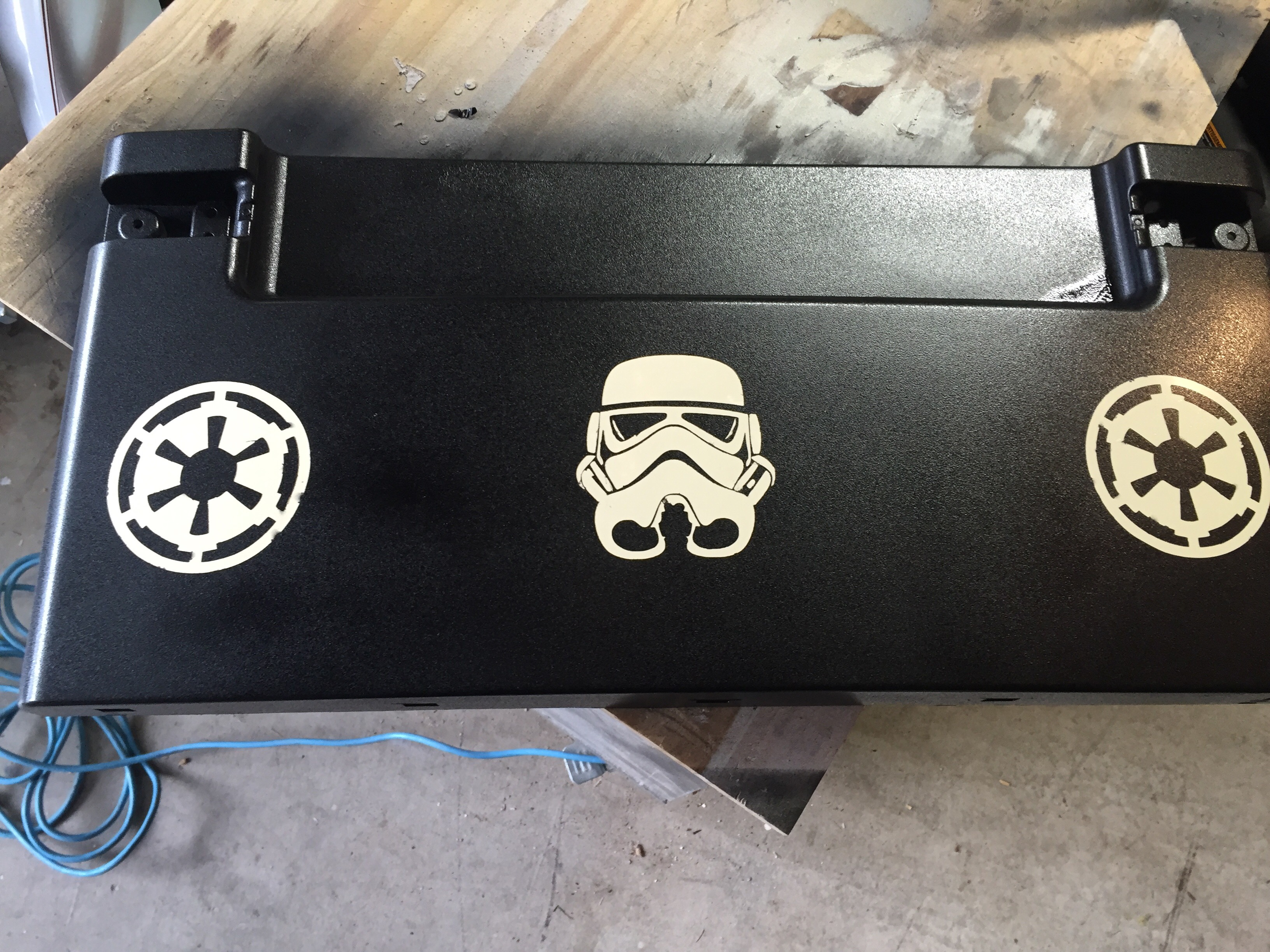 Picture of Star Wars Bins From Old LG Storage Bins