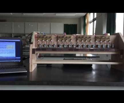 Automated MIDI Xylophone
