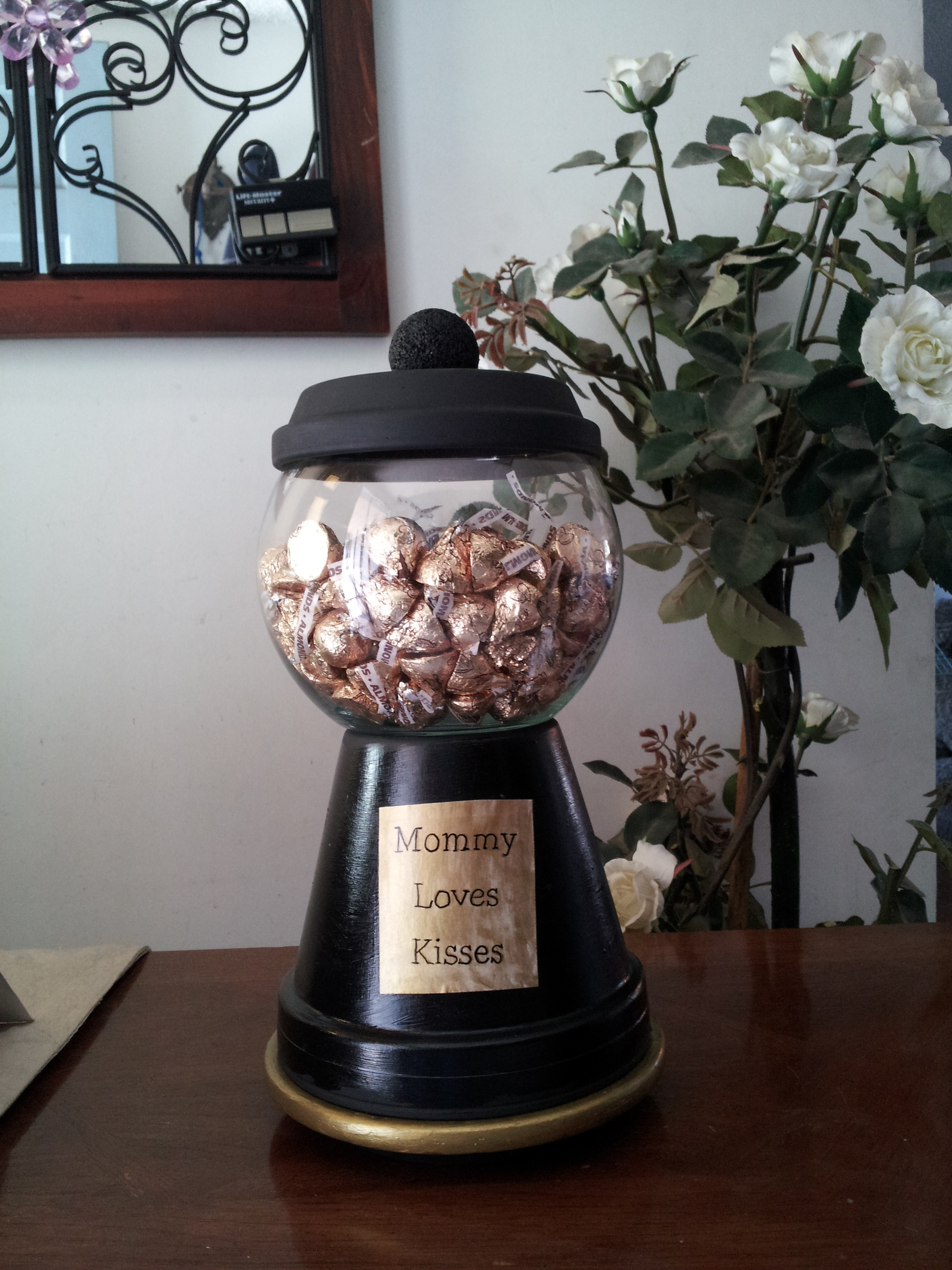 Picture of Terra Cotta Pots?? - Gumball Machine Candy Jar