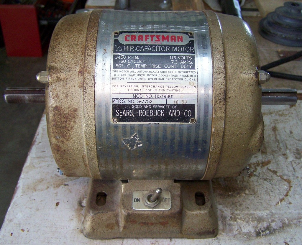 Make an Electric Motor Run Again: 6 Steps (with Pictures) Westinghouse Dc Motor Starter Wiring Diagram on