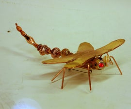 Miss Betsy's Dragonfly Pin