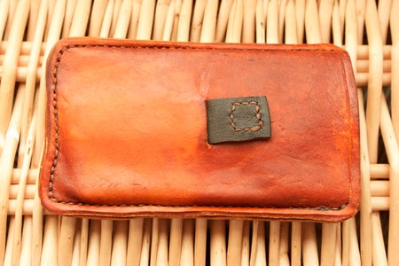 Leather Smartphone Case (with Pull-tab)