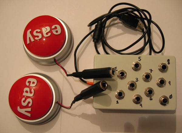 Easy Button Musical Interface