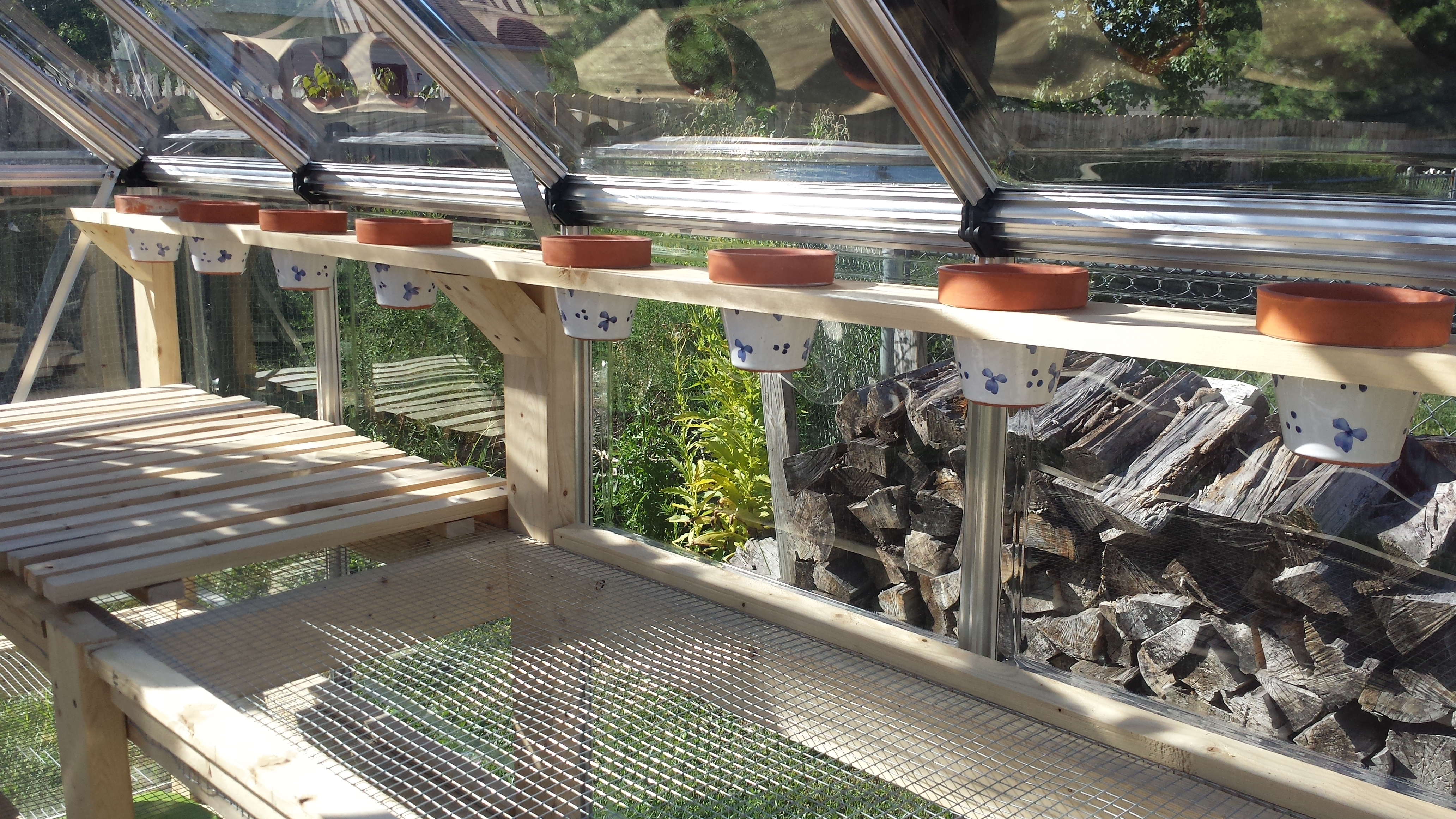 Picture of Greenhouse Growing Bench